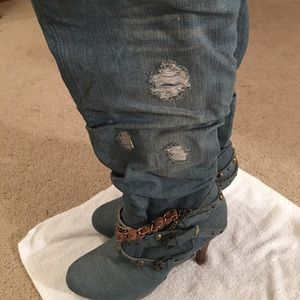 The Ultimate Blue Jean Boots